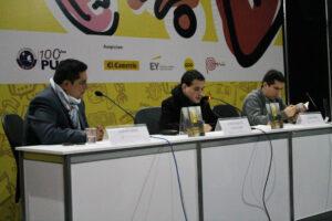 Presentación en la Feria Internacional del Libro de Lima (2017)
